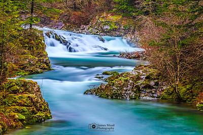 """Emerald Path,"" Doc's Drop, Washougal River, Washington"