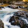 Sunset Falls, Lewis River