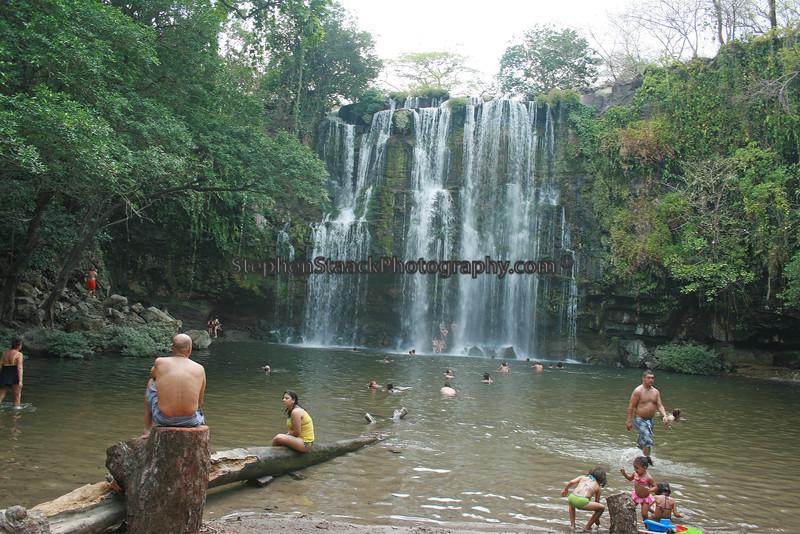 Llanos de Cortez Waterfall. Costa Rica.