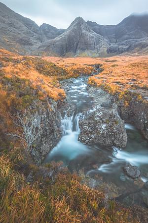The Fairy Pools. Isle of Skye, Scotland
