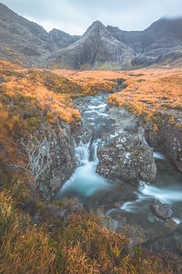 The Fairy Pools. Isle of Skye, Scotland