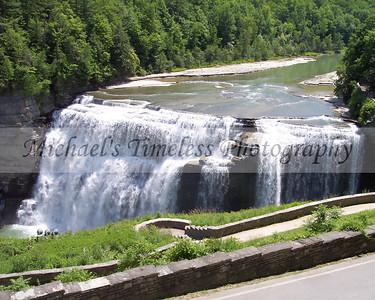 Middle Falls - Letchworth - 8 x 10