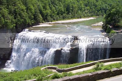 Middle Falls - Letchworth - 4 x 6