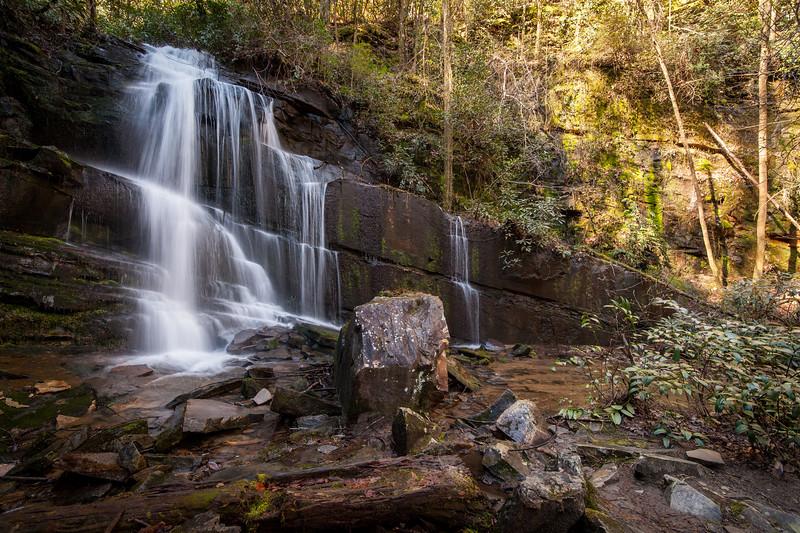 Spring at Bad Branch Falls