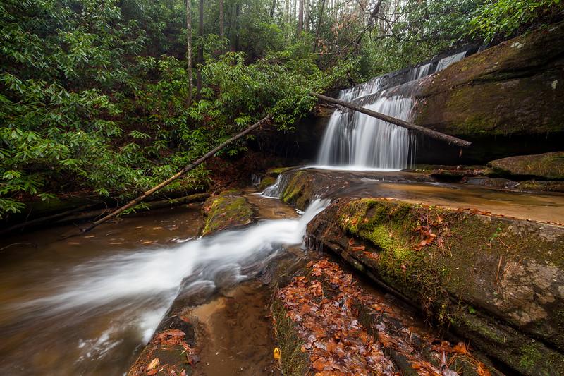 Winter, Crow Creek Falls