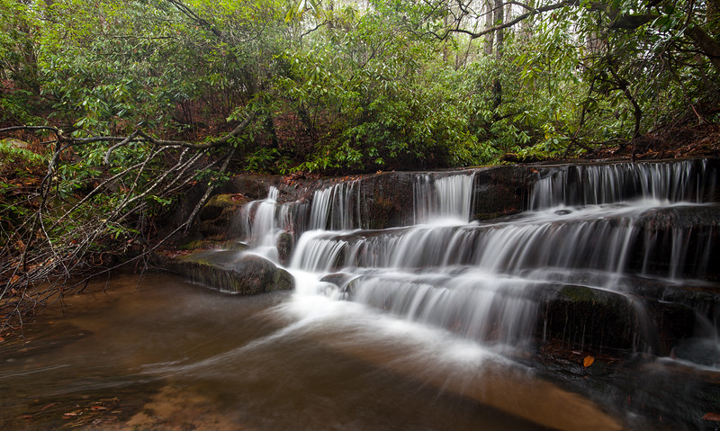 Lower Crow Creek Falls