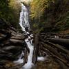Autumn at Mingo Falls