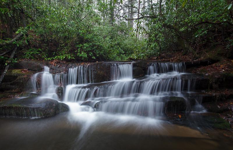 Lower Crow Creek Falls