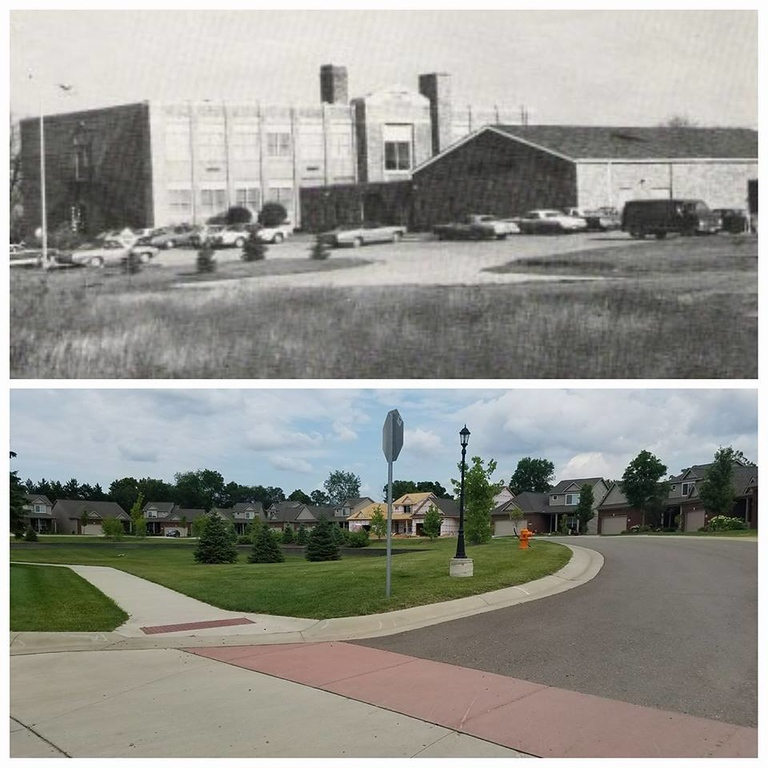 . Four Towns Elementary School on Cooley Lake Road