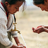 Two girls wash their hands in Bolivia. Handwashing can reduce diarrhea cases by 50%. This simple solution improves the health of entire communities and can saves lives.<br /> <br /> This is why we educated over 220,000 people about hygiene in 2017.