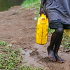 A child walking with jerry cans full of water. <br /> Kids lose time they could be in school – arriving late, leaving early, and sometimes missing entire schooldays to fetch water.