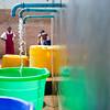 A community water point in Blantyre, Malawi.