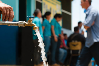 A water tap in Honduras