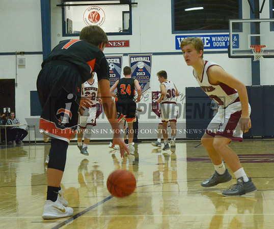 Waterloo at Gibault Basketball 2 / 6 / 18