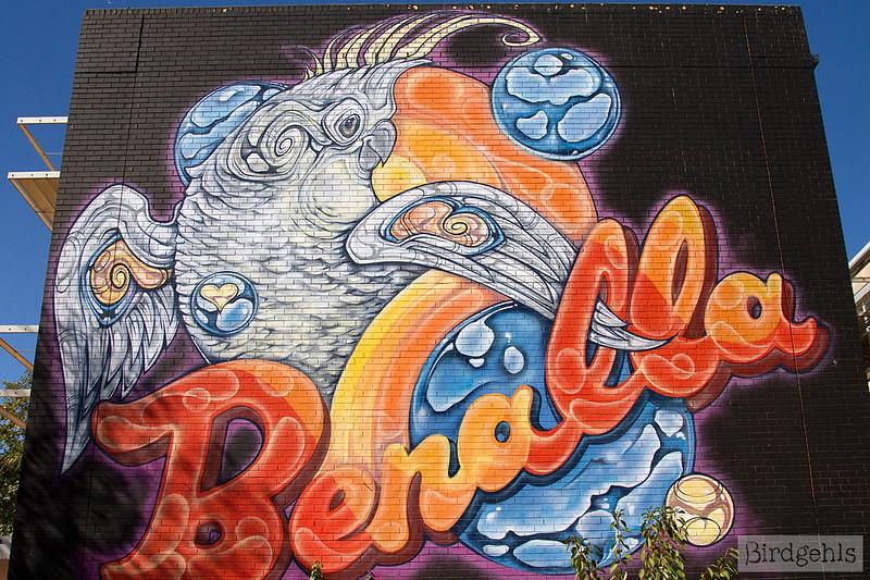 benalla street art