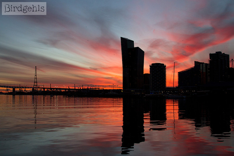 sunset docklands