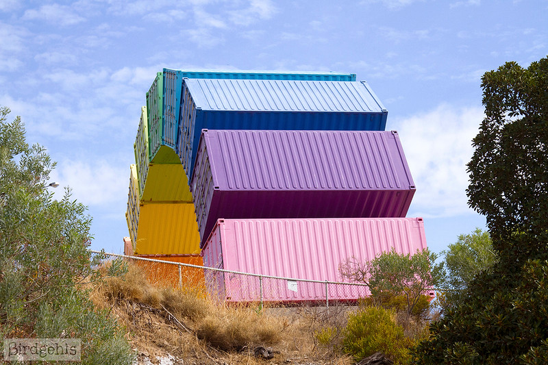 rainbow sea container fremantle