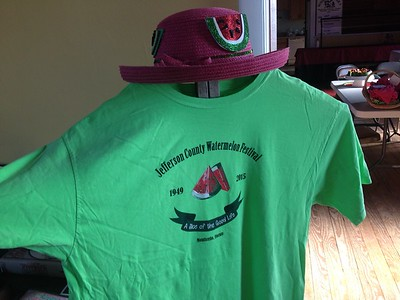 2015 Watermelon Festival T-shirts