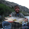 Nice Brown ate Will Norris's streamer on the Lower Madison. <br /> Photo: Cole Stanwyck