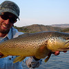 Doug McKnight with a nice afterwork brown<br /> Photo: James Anderson