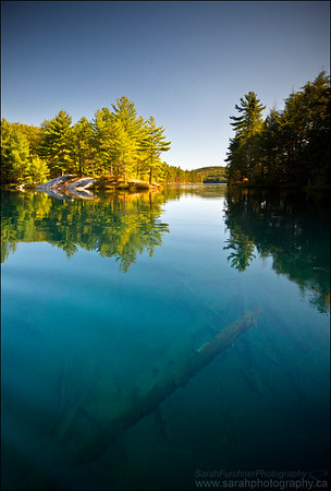 Nellie Lake, Killarney Provincial Park. Ontario.