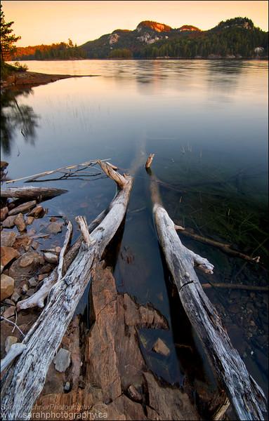 OSA Lake, Killarney Provincial Park Ontario.
