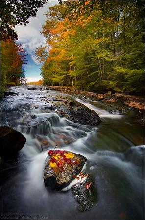Freeland Portage. Killarney Provincial Park, Ontario.