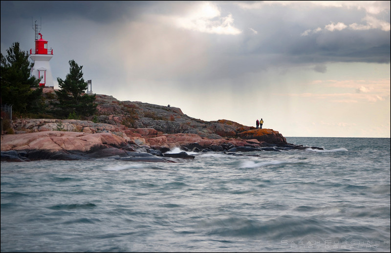 Lake Huron. Killarney, Ontario.