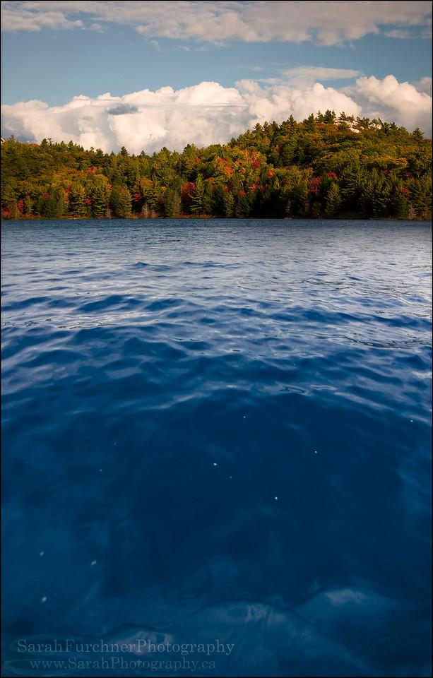Nellie Lake. Killarney Provincial Park, Ontario.