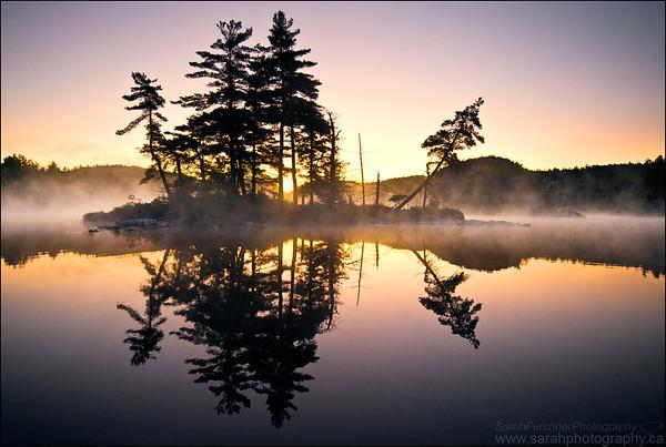 Grace Lake. Killarney Provincial Park. Ontario.