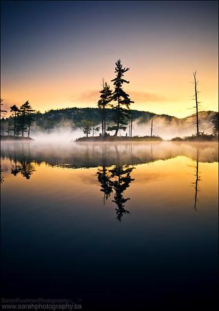 Grace Lake, Killarney Provincial Park, Ontario.