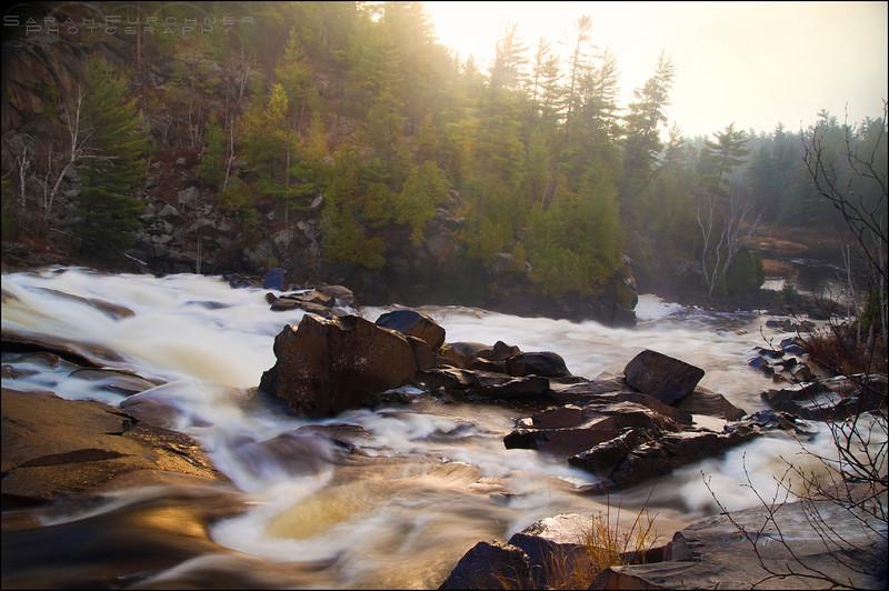 Onaping Falls. Sudbury, Ontario.