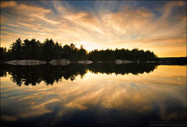Bell Lake. Killarney Provincial Park, Ontario.