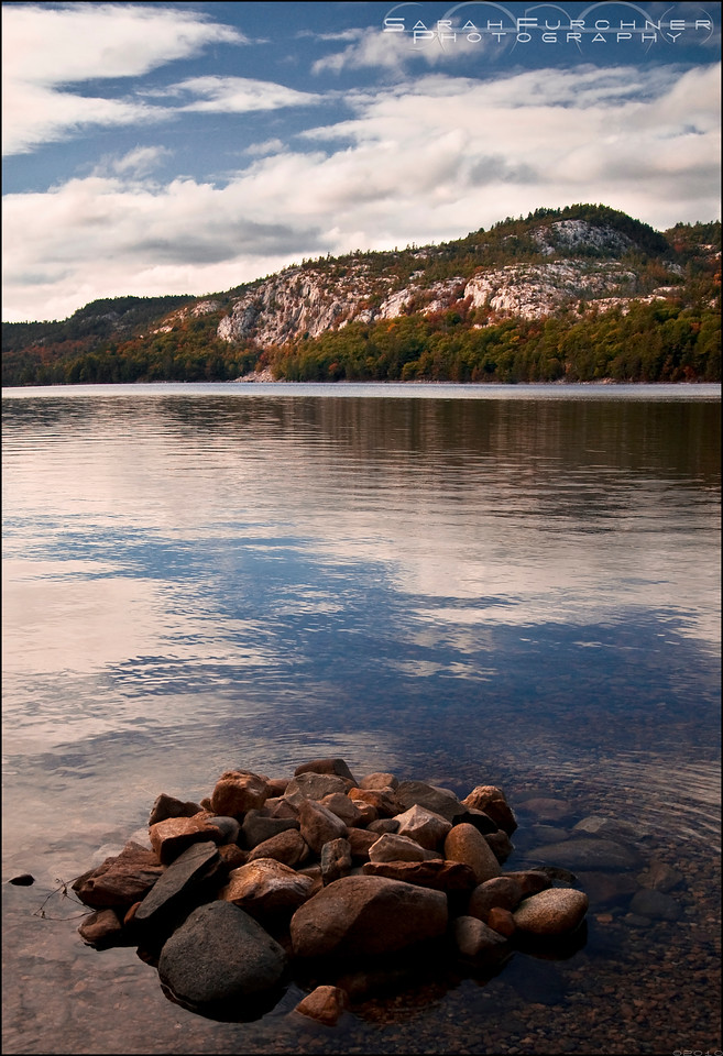 O.S.A Lake. Killarney Provincial Park, Ontario.
