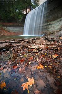 Bridal Veil Falls, Kagawong Manitoulin Island, ON.