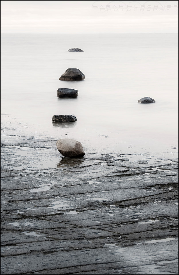 Lake Huron. Misery Bay Provincial Park, Ontario.