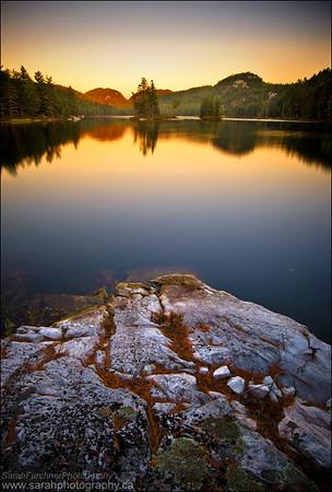 Grace Lake. Killarney Provincial Park, Ontario