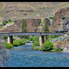 White River meets the Deschutes River