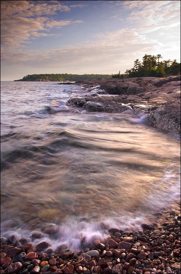 Lake Huron. Killarney, Ontario