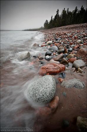 Gargantua Bay, Lake Superior Provincial Park. Ontario.