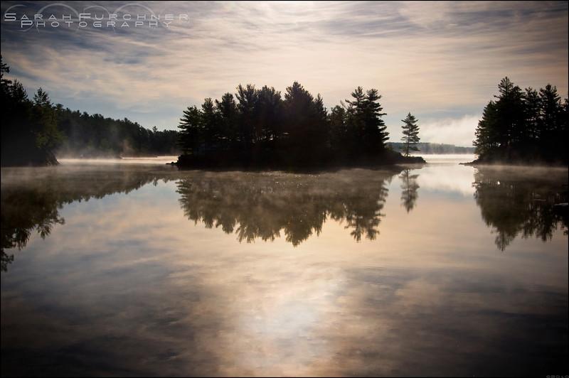 Lake Nipissing, West Arm. Ontario.