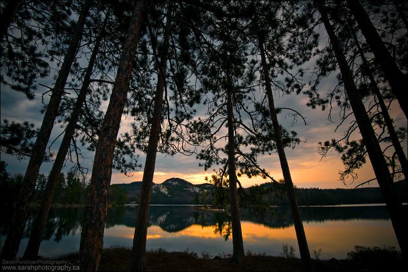 O.S.A Lake, Killarney Provincial Park, Ontario.