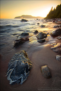 Gargantua Bay. Lake Superior Provincial Park, ON.