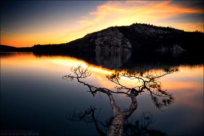 Killarney Lake. Killarney Provincial Park, Ontario.