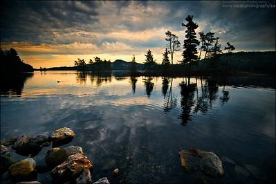 O.S.A Lake, Killarney Park Ontario.