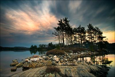 O.S.A Lake, Killarney Provincial Park Ontario.