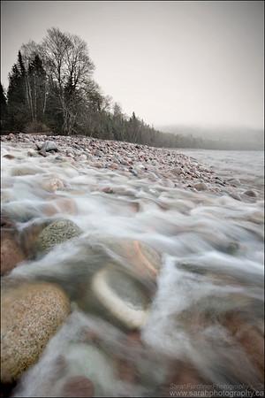 Gargantua Bay. Lake Superior Provincial Park, ON.