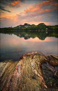 OSA Lake, Killarney Provincial Park. Ontario.