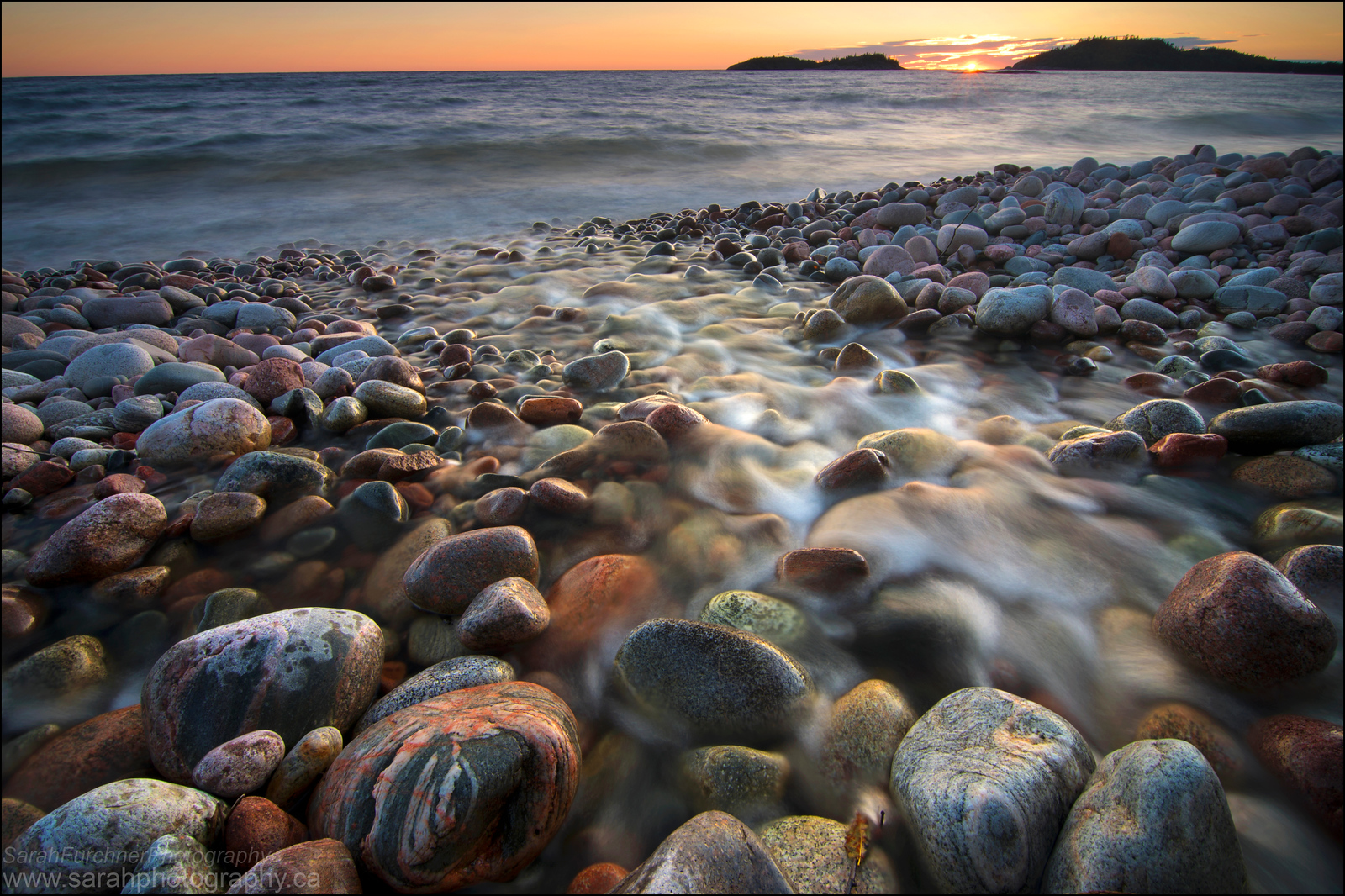 Gargantua Bay. Lake Superior.