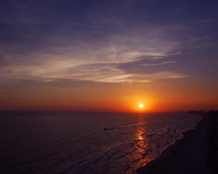 Sunset on the Gulf 2<br /> <br /> Panama City Beach, Florida.